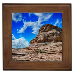 Mountain Canyon Landscape Nature Framed Tiles