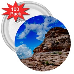 Mountain Canyon Landscape Nature 3  Buttons (100 Pack)  by Celenk