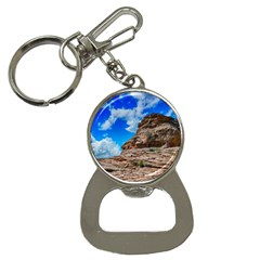 Mountain Canyon Landscape Nature Button Necklaces