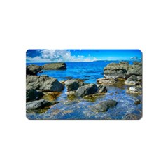 Shoreline Sea Coast Beach Ocean Magnet (name Card) by Celenk