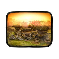 Rocks Outcrop Landscape Formation Netbook Case (small)  by Celenk