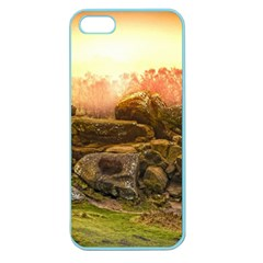 Rocks Outcrop Landscape Formation Apple Seamless Iphone 5 Case (color)