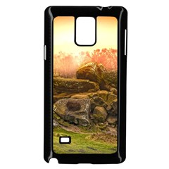Rocks Outcrop Landscape Formation Samsung Galaxy Note 4 Case (black) by Celenk