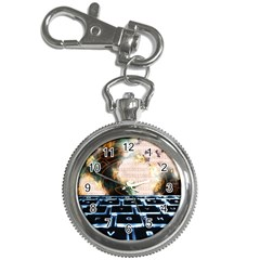 Ransomware Cyber Crime Security Key Chain Watches by Celenk