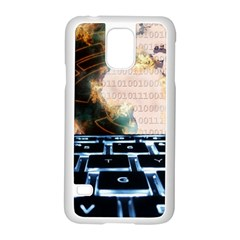 Ransomware Cyber Crime Security Samsung Galaxy S5 Case (white) by Celenk