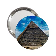 Pyramid Egypt Ancient Giza 2 25  Handbag Mirrors