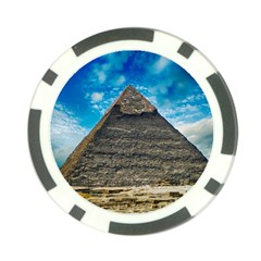 Pyramid Egypt Ancient Giza Poker Chip Card Guard (10 Pack) by Celenk