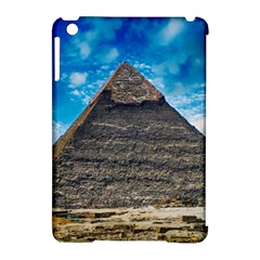 Pyramid Egypt Ancient Giza Apple Ipad Mini Hardshell Case (compatible With Smart Cover) by Celenk