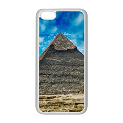 Pyramid Egypt Ancient Giza Apple Iphone 5c Seamless Case (white) by Celenk