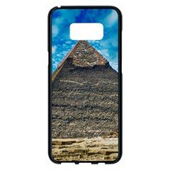 Pyramid Egypt Ancient Giza Samsung Galaxy S8 Plus Black Seamless Case