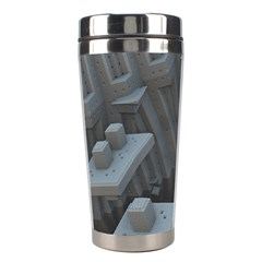 Backdrop Pattern Surface Texture Stainless Steel Travel Tumblers by Celenk