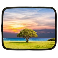 Tree Sea Grass Nature Ocean Netbook Case (large) by Celenk