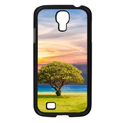 Tree Sea Grass Nature Ocean Samsung Galaxy S4 I9500/ I9505 Case (black) by Celenk