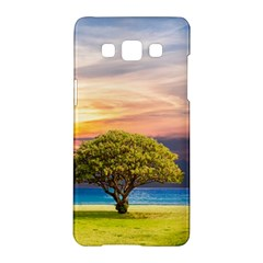 Tree Sea Grass Nature Ocean Samsung Galaxy A5 Hardshell Case  by Celenk