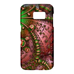 Fractal Symmetry Math Visualization Samsung Galaxy S7 Hardshell Case  by Celenk