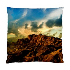 Mountain Sky Landscape Nature Standard Cushion Case (two Sides)