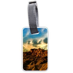 Mountain Sky Landscape Nature Luggage Tags (one Side)  by Celenk