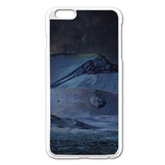 Landscape Night Lunar Sky Scene Apple Iphone 6 Plus/6s Plus Enamel White Case by Celenk