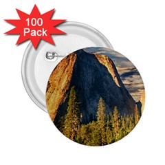 Mountains Landscape Rock Forest 2 25  Buttons (100 Pack)