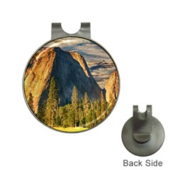 Mountains Landscape Rock Forest Hat Clips With Golf Markers
