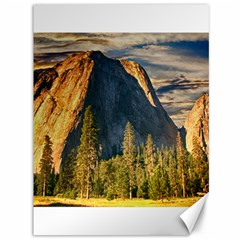Mountains Landscape Rock Forest Canvas 36  X 48   by Celenk