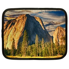 Mountains Landscape Rock Forest Netbook Case (large)
