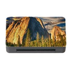 Mountains Landscape Rock Forest Memory Card Reader With Cf