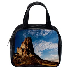 Mountain Desert Landscape Nature Classic Handbags (one Side)