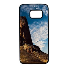 Mountain Desert Landscape Nature Samsung Galaxy S7 Black Seamless Case by Celenk