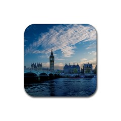 London Westminster Landmark England Rubber Coaster (square)