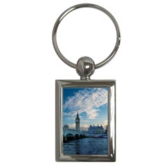 London Westminster Landmark England Key Chains (rectangle)
