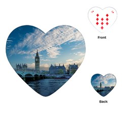 London Westminster Landmark England Playing Cards (heart)  by Celenk