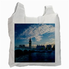 London Westminster Landmark England Recycle Bag (two Side)  by Celenk