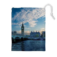 London Westminster Landmark England Drawstring Pouches (extra Large) by Celenk