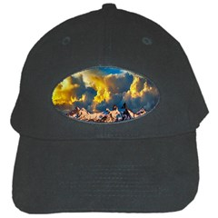 Mountains Clouds Landscape Scenic Black Cap by Celenk