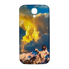 Mountains Clouds Landscape Scenic Samsung Galaxy S4 I9500/i9505  Hardshell Back Case