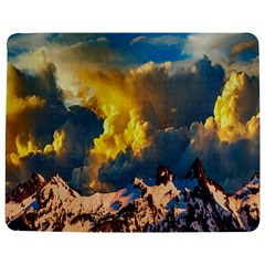 Mountains Clouds Landscape Scenic Jigsaw Puzzle Photo Stand (rectangular) by Celenk