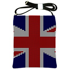 Union Jack Flag British Flag Shoulder Sling Bags by Celenk