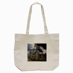 Castle Building Architecture Tote Bag (cream)