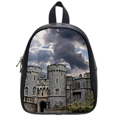 Castle Building Architecture School Bag (small)