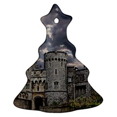 Castle Building Architecture Ornament (christmas Tree)  by Celenk