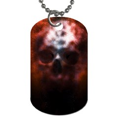 Skull Horror Halloween Death Dead Dog Tag (two Sides)