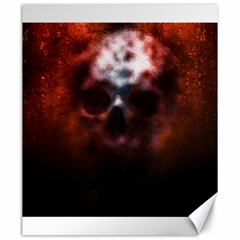 Skull Horror Halloween Death Dead Canvas 20  X 24