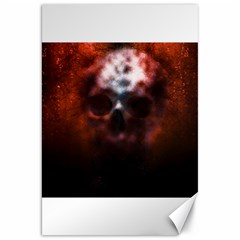 Skull Horror Halloween Death Dead Canvas 20  X 30
