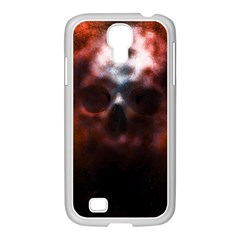 Skull Horror Halloween Death Dead Samsung Galaxy S4 I9500/ I9505 Case (white) by Celenk