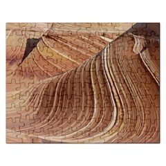 Swirling Patterns Of The Wave Rectangular Jigsaw Puzzl