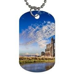 Ruin Church Ancient Architecture Dog Tag (one Side) by Celenk