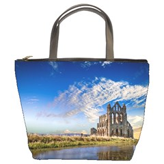Ruin Church Ancient Architecture Bucket Bags