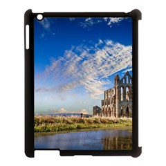 Ruin Church Ancient Architecture Apple Ipad 3/4 Case (black) by Celenk