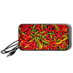 Chilli Pepper Spicy Hot Red Spice Portable Speaker by Celenk